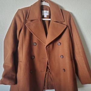 Old navy pea coat- brown